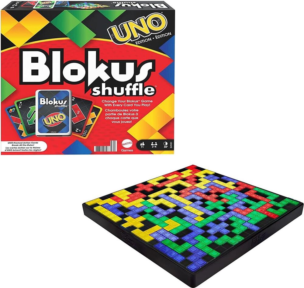 Uno - Mattel Games - UNO Blokus Mash Up