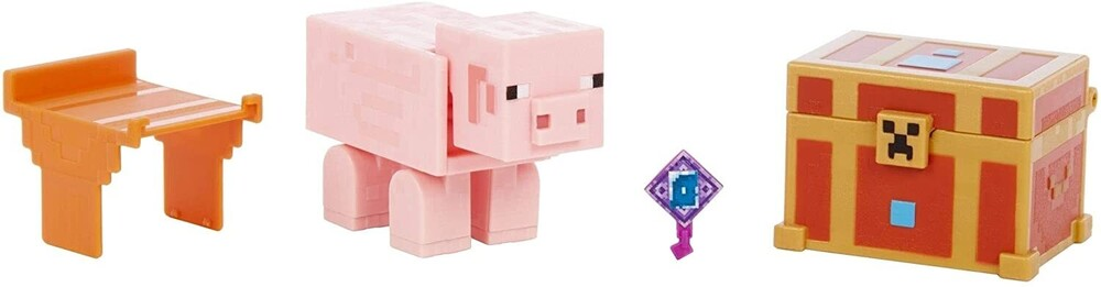 - Mattel Collectible - Minecraft Dungeons 3.25 Piggybank