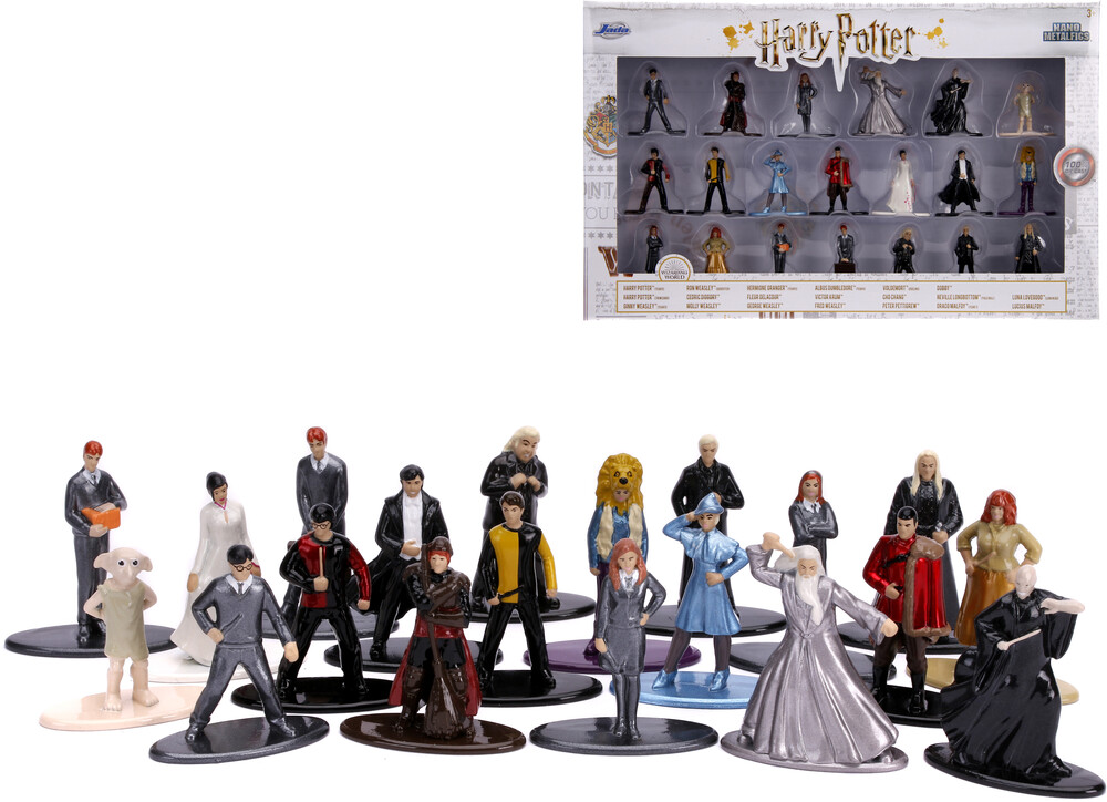 - Nano Metalfigs Harry Potter 20 Pk Wave 4 (Clcb)