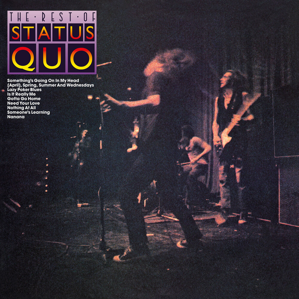 Status Quo - Rest Of Status Quo [Colored Vinyl] [Limited Edition] (Purp) [Indie Exclusive]