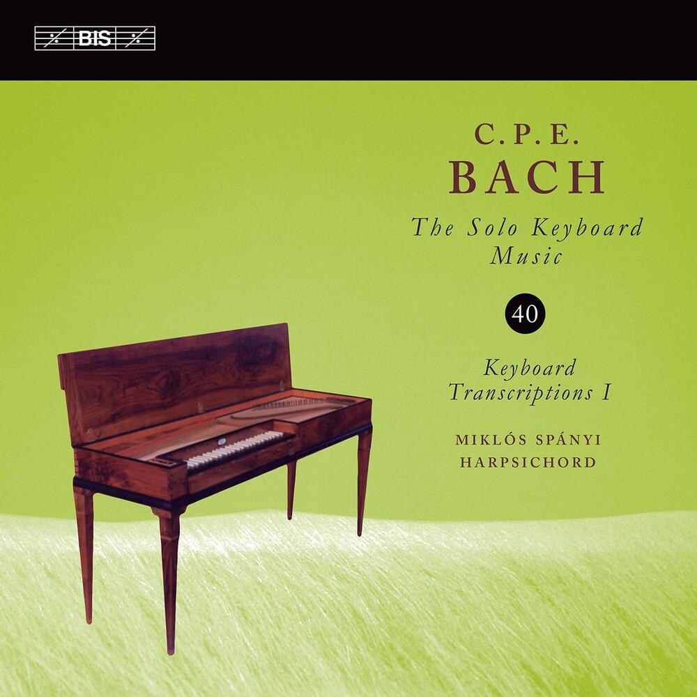 C Bach .P.E / Spanyi - Solo Keyboard Music 40