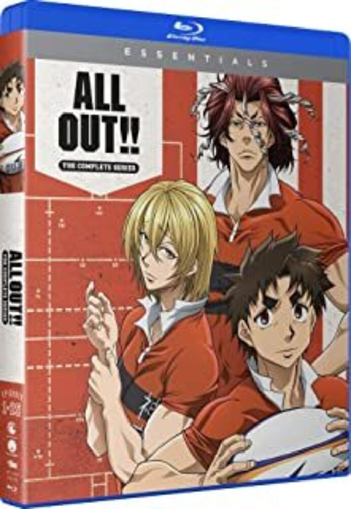 - All Out: Complete Series (4pc) / (Box Digc Sub)