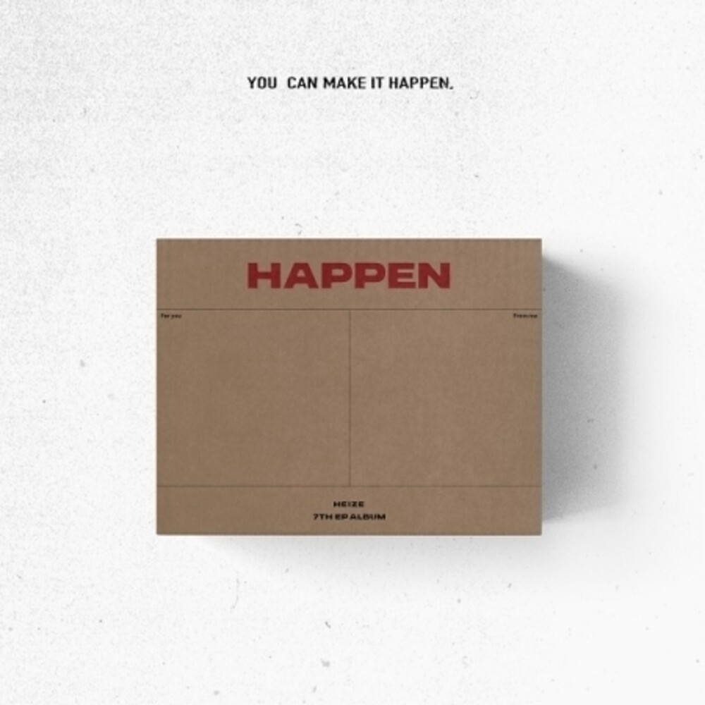 Heize - Happen [With Booklet] (Pcrd) (Asia)
