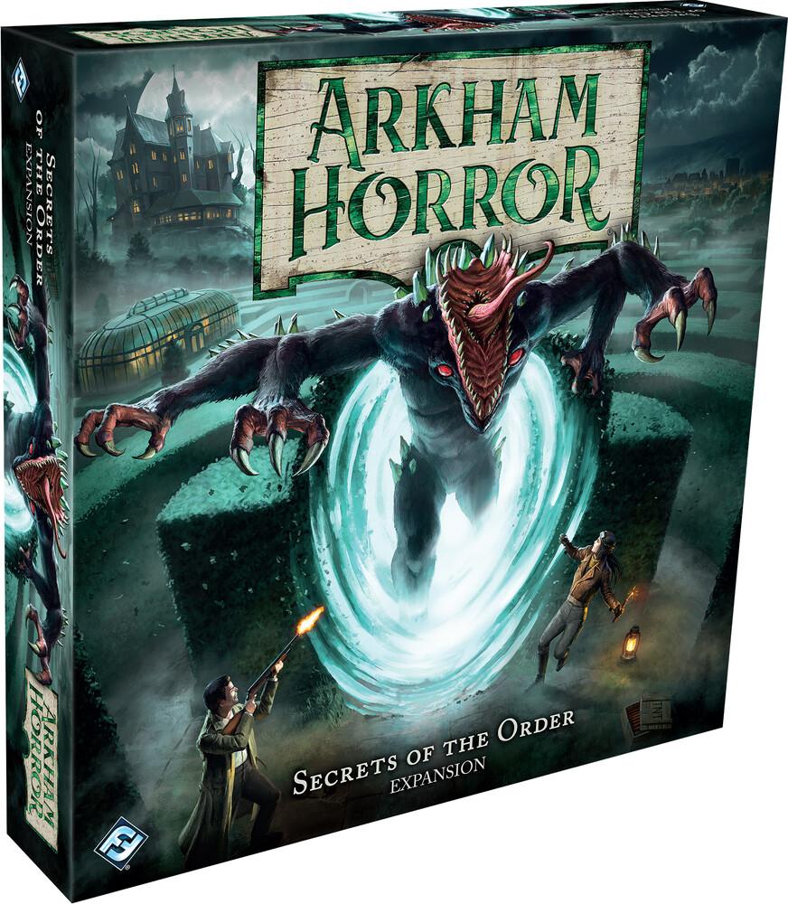 - Arkham Horror Board Game Secrets Of Order Exp