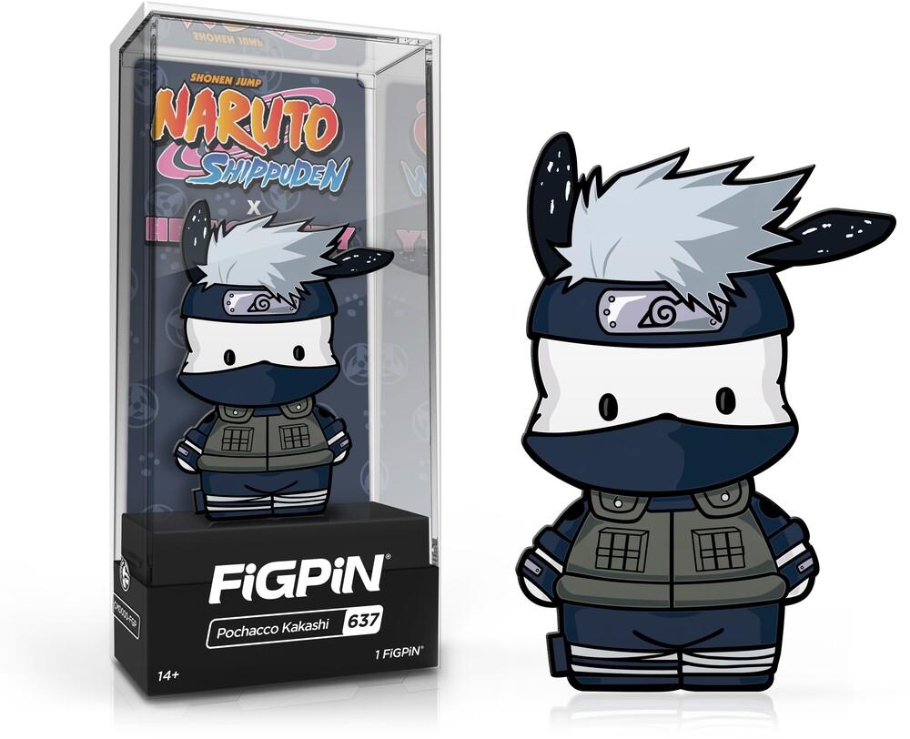 - FiGPiN Naruto Shippuden X Hello Kitty - Pochacco Kakashi #637