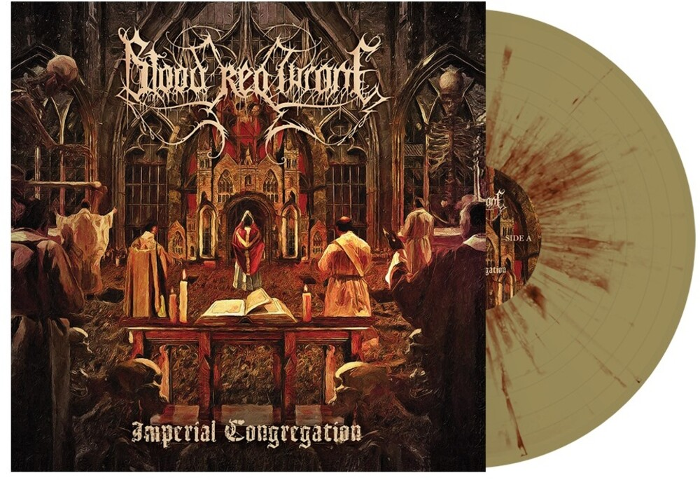 Blood Red Throne - Imperial Congregation [Indie Exclusive] (Gold & Red Splatter)