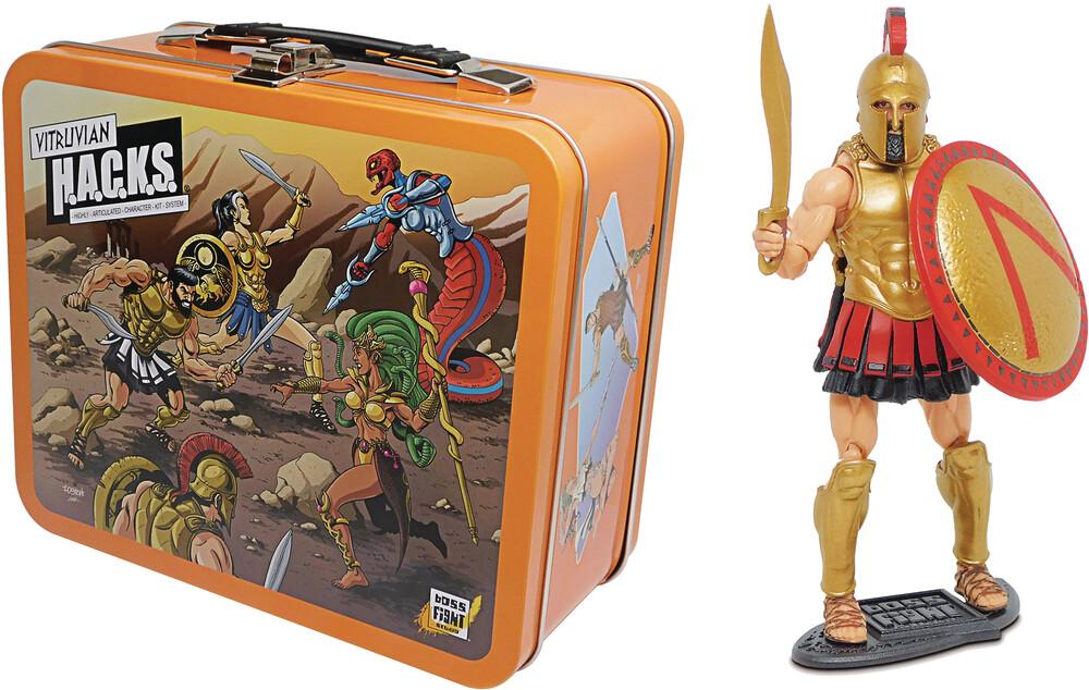 - Vitruvian Leonidas V2 & Lunchbox (Net) (Clcb)