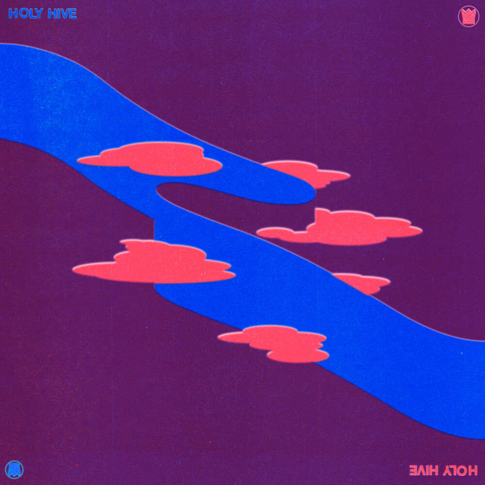 Holy Hive - Holy Hive [Indie Exclusive] (Translucent Pink / Blue Splatter)