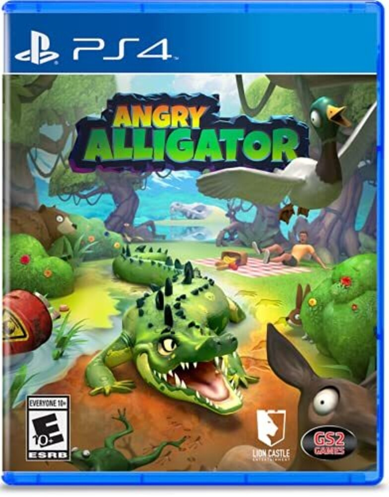 Ps4 Angry Alligator - Ps4 Angry Alligator