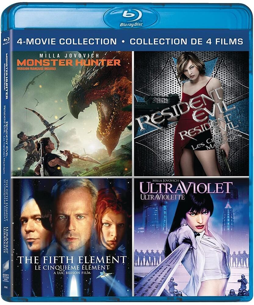 Fifth Element / Monster Hunter / Resident Evil - Fifth Element / Monster Hunter (2020) / Resident Evil / Ultraviolet