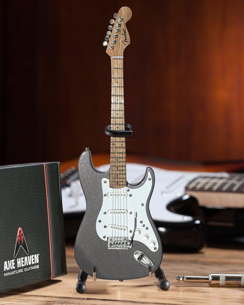 Eric Clapton Pewter Fender Strat Mini Guitar - Eric Clapton Pewter Fender Strat Mini Guitar (Fig)