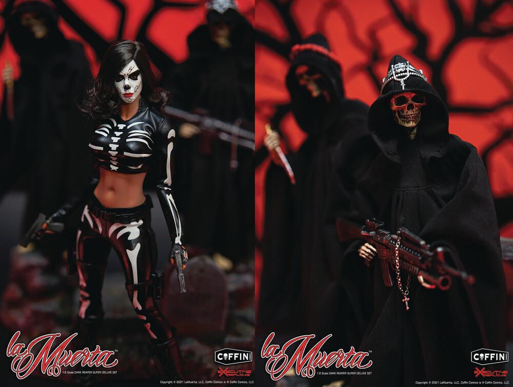 Executive Replicas - La Muerta & Dark Reaper Super Deluxe 1/6th Af 3pc