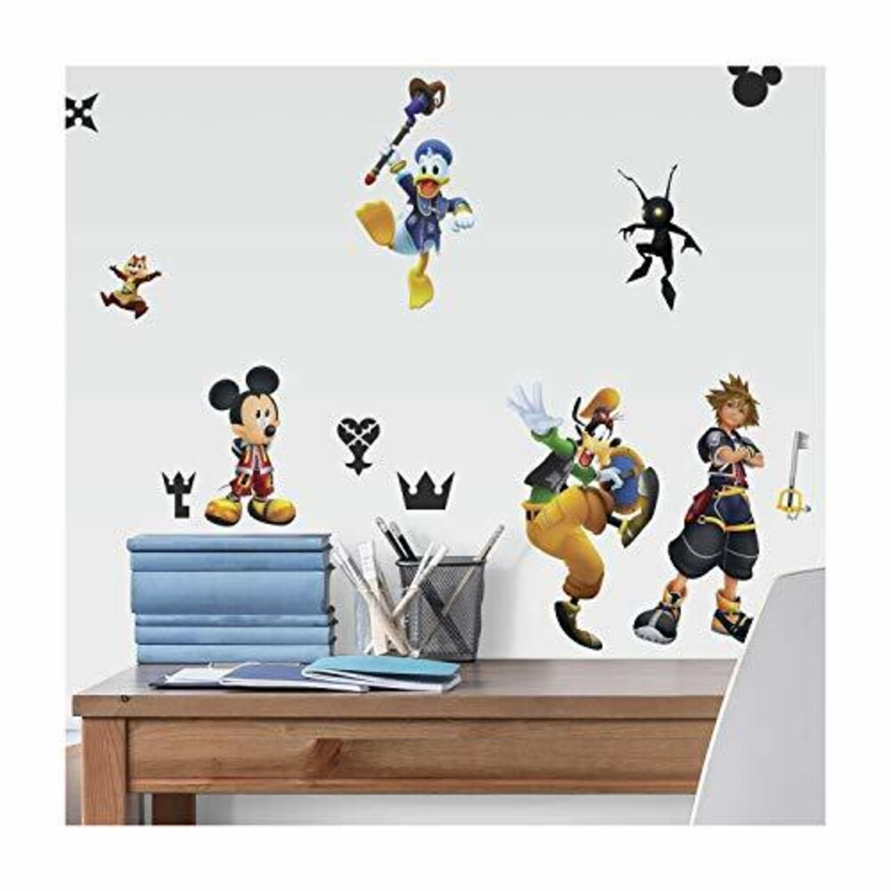 Kingdom Hearts Wall Decals - Kingdom Hearts Wall Decals