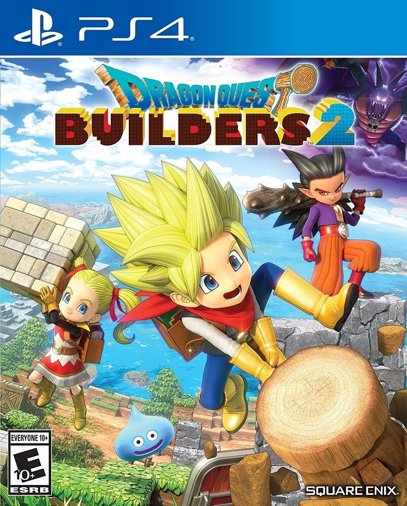 Ps4 Dragon Quest Builders 2 - Dragon Quest Builders 2 for PlayStation 4