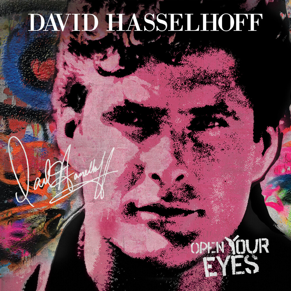 David Hasselhoff - Open Your Eyes [Limited Edition Red LP]