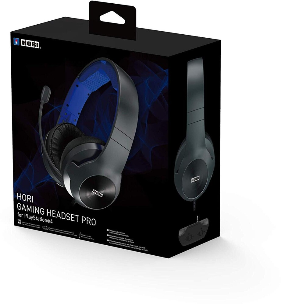 - HORI Gaming Headset Pro for PlayStation 4