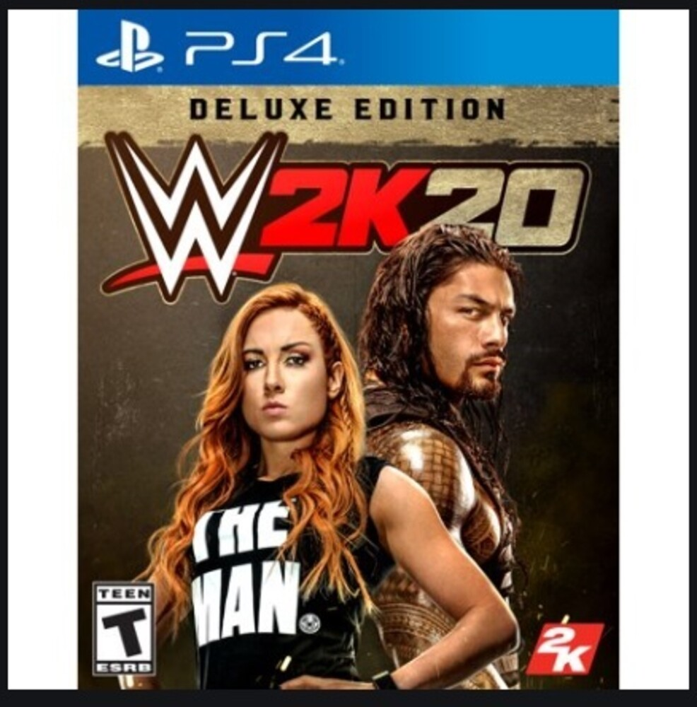 - WWE 2K20 Deluxe Edition for PlayStation 4