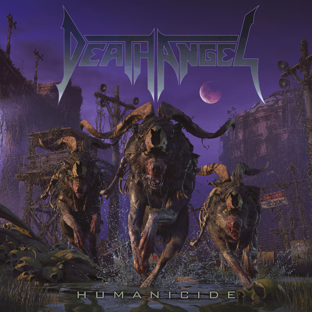 Death Angel - Humanicide [Bottle Green/Purple Splatter 2LP]