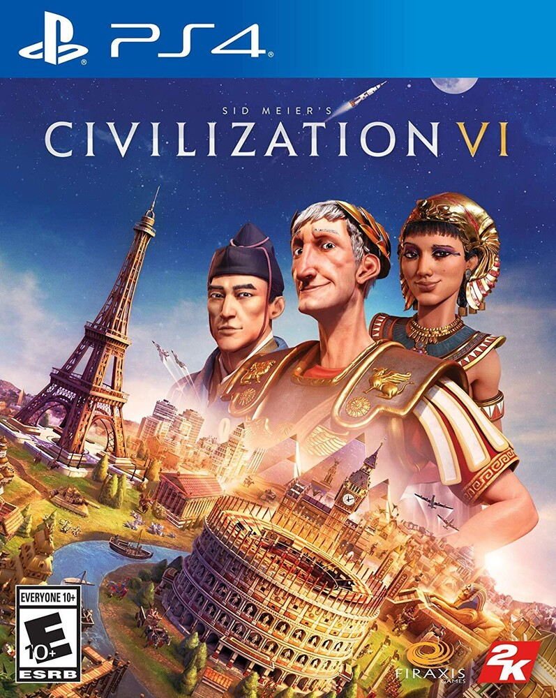 - Civilization VI for PlayStation 4
