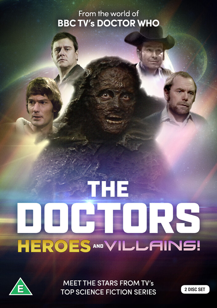 Doctors: Dr Who Heroes & Villains - Doctors: Dr Who Heroes & Villains (2pc) / (Ntr0)