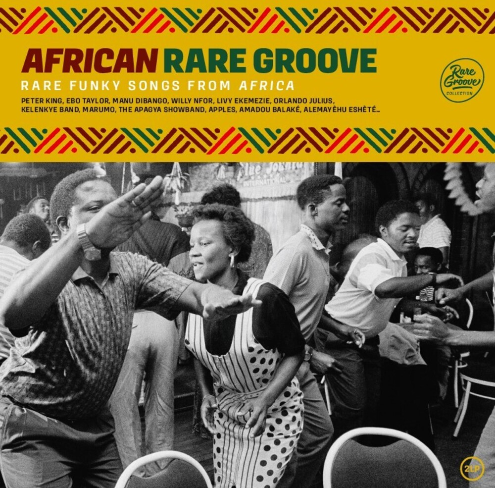 African Rare Groove / Various - African Rare Groove / Various (Fra)