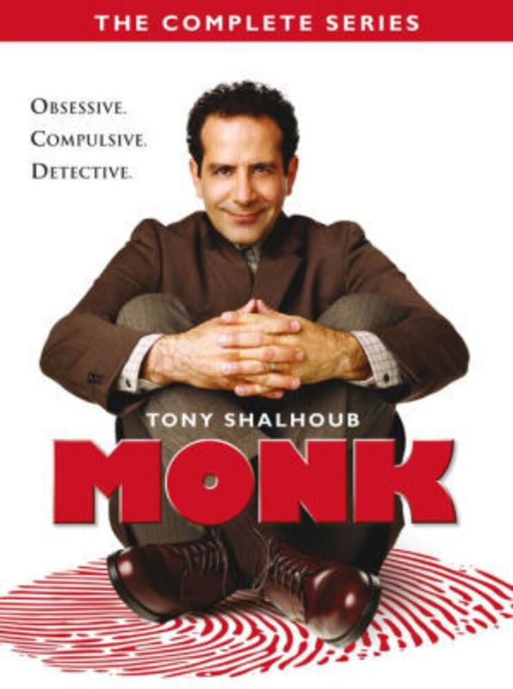 Monk: Complete Series - Monk: Complete Series (32pc) / (Box)