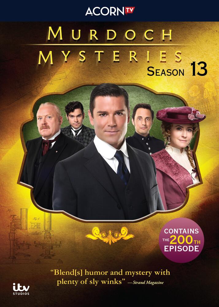 Murdoch Mysteries: Series 13 - Murdoch Mysteries: Series 13 (5pc)