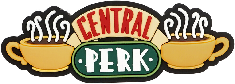 Wb Friends - Central Perk Logo 3D Foam Magnet - Friends - Central Perk Logo 3D Foam Magnet
