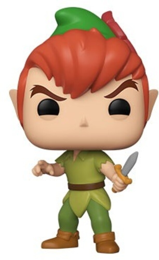 - FUNKO POP! DISNEY: Disney 65TH-Peter Pan (New Pose)