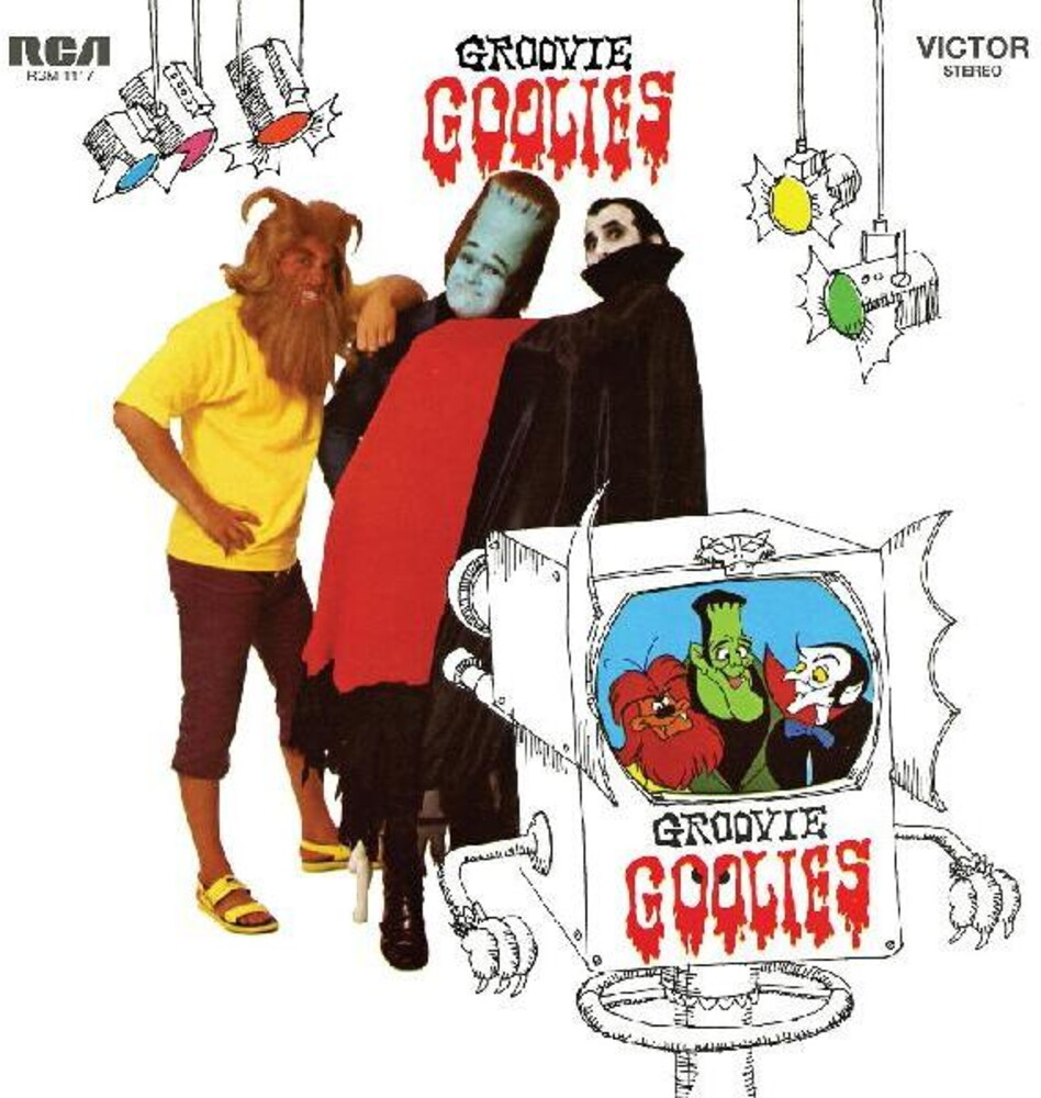 Groovie Goolies - Groovie Goolies [Colored Vinyl] (Grn) [Limited Edition]