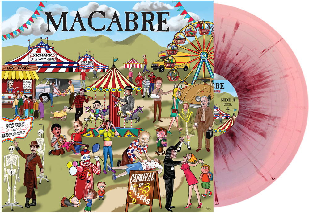 Macabre - Carnival Of Killers (Bludgeoned Flesh Edition) [Limited Edition LP]