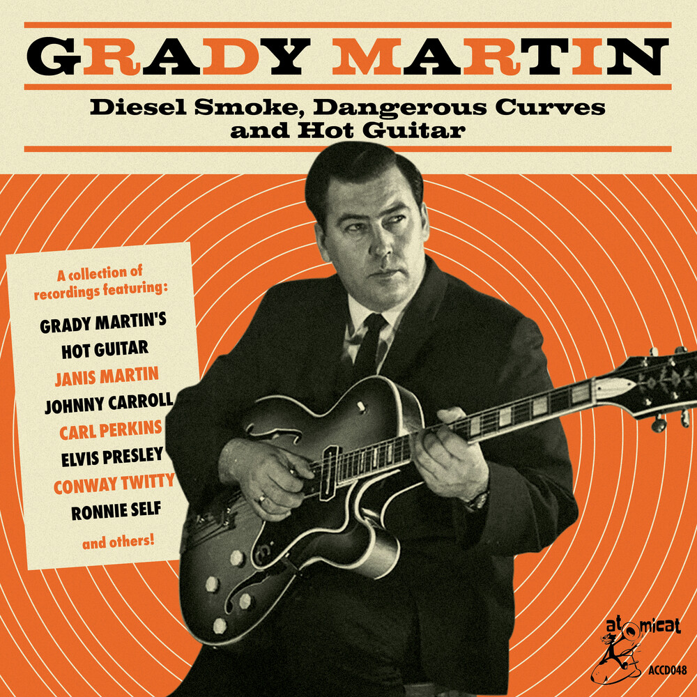 Grady Martin Diesel Smoke Dangerous Curves / Var - Grady Martin: Diesel Smoke Dangerous Curves And Hot Guitar (Various Artists)