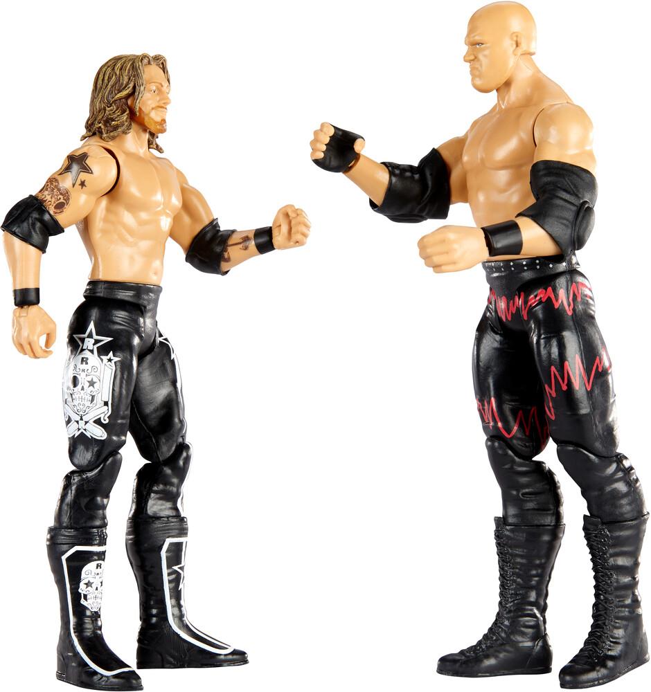 WWE - Mattel Collectible - WWE Basic Figure 2-Pack Kane vs. Edge