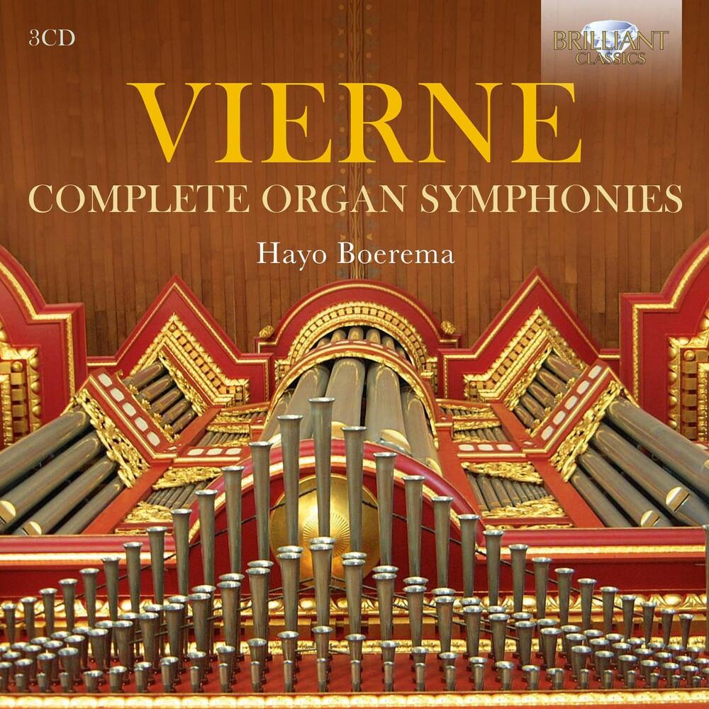 Vierne / Boerema - Complete Organ Symphonies