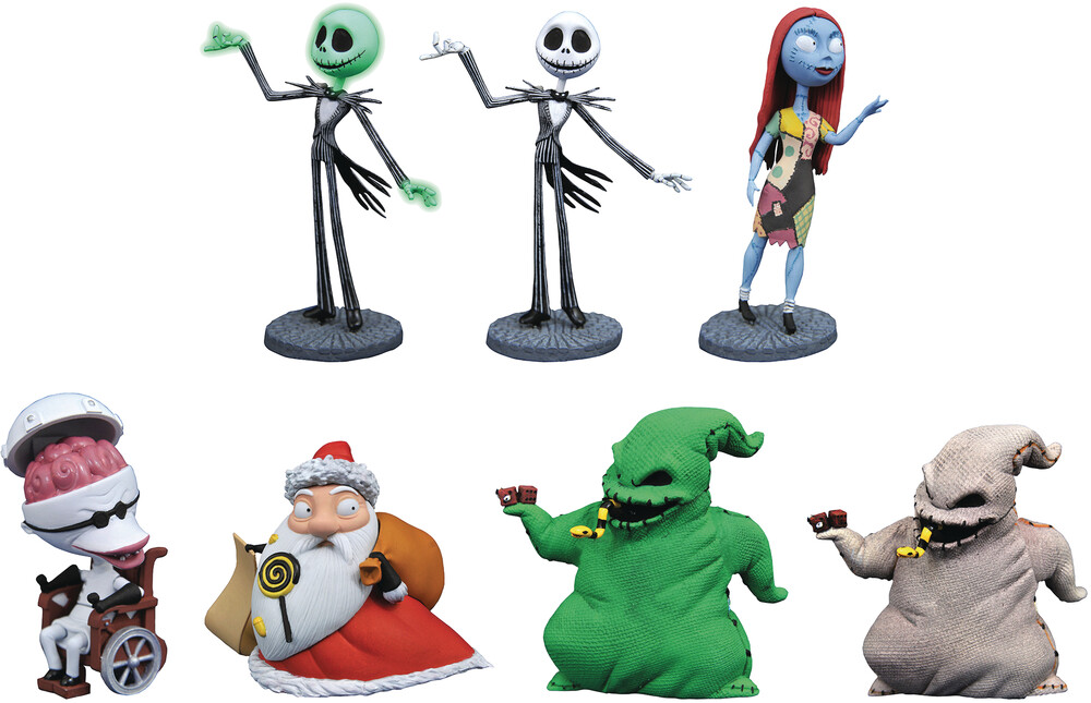 Diamond Select - Diamond Select - Nightmare Before Christmas Series2 D-Formz BMBAssortment