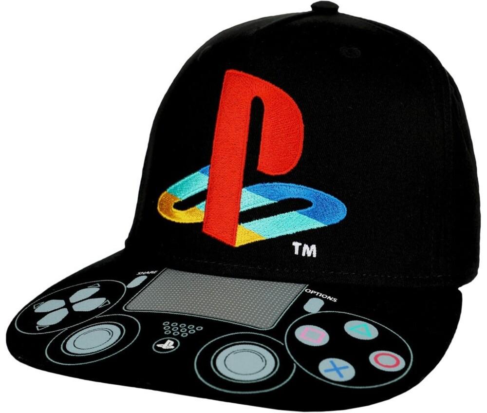 Sony Playstation Controller & Logo Snapback Bb Cap - Sony Playstation Controller & Logo Snapback Baseball Cap
