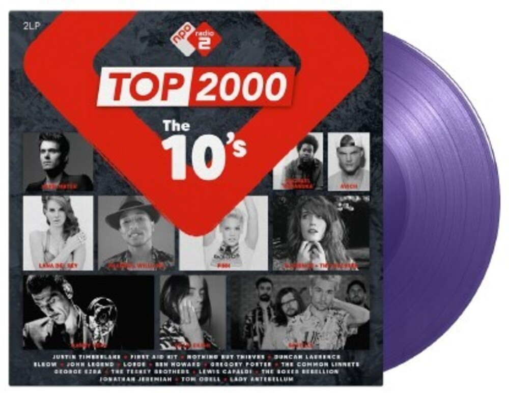 Top 2000 The 10s / Various - Top 2000: The 10's / Various [Colored Vinyl] (Gate) [Limited Edition]