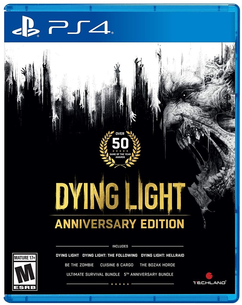 Ps4 Dying Light - Anniversary Edition - Ps4 Dying Light - Anniversary Edition
