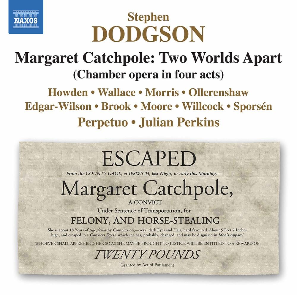 Dodgson / Ensemble Perpetuo / Perkins - Margaret Catchpole (3pk)