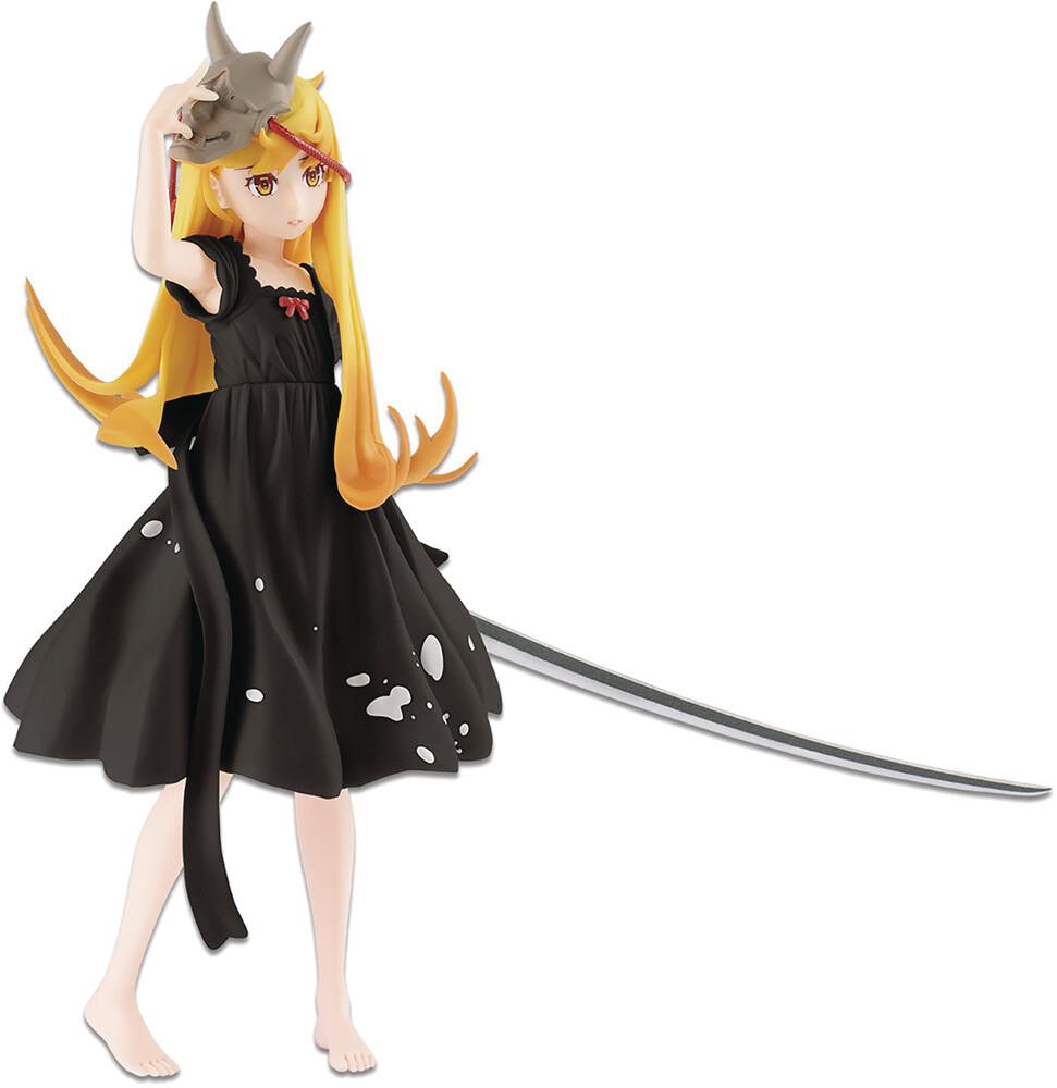 - BanPresto - Nisioisin Daijiten Shinobu Oshino Special Color EXQ Figure