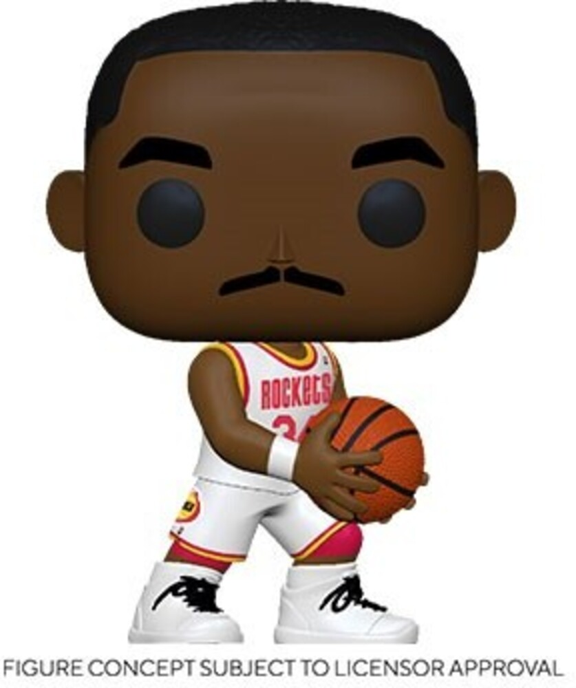 Funko Pop! NBA: - FUNKO POP! NBA: Legends- Hakeem Olajuwon (Rockets Home)