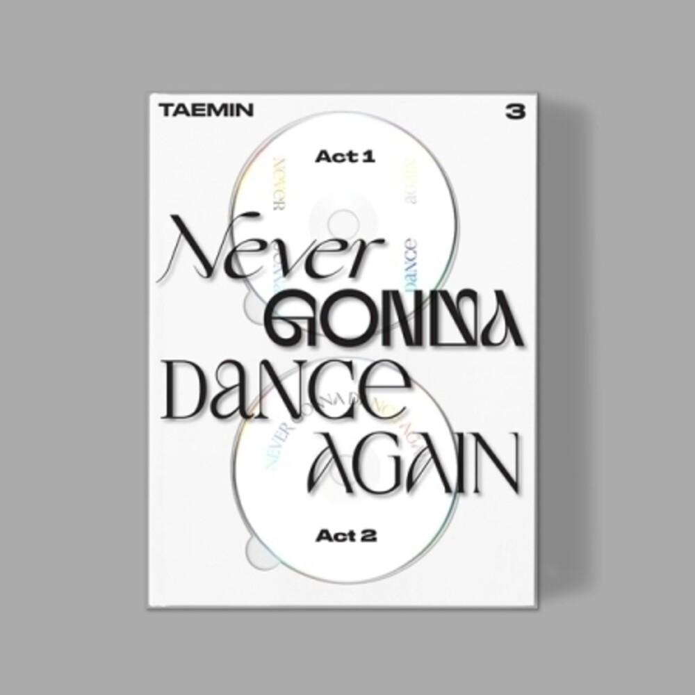 Taemin - Never Gonna Dance Again (Extended Version) (incl. 102pg Photobook, Photocard, Postcard, Leaflet + Poster)