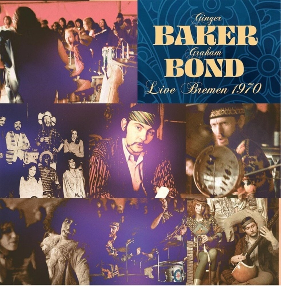 Ginger Baker  / Graham Bond - Live Bremen 1970