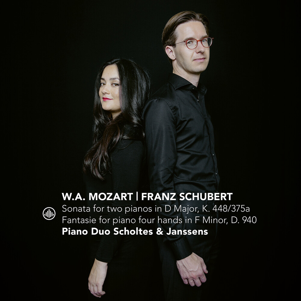 Mozart / Piano Duo Scholtes & Janssens - Sonata for Two Pianos