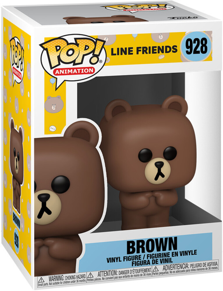 - FUNKO POP! ANIMATION: Line Friends- Brown
