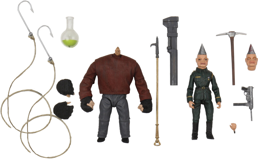 - NECA - Puppet Master Pinhead & Tunneler Ultimate 4 Action Figure 2Pk