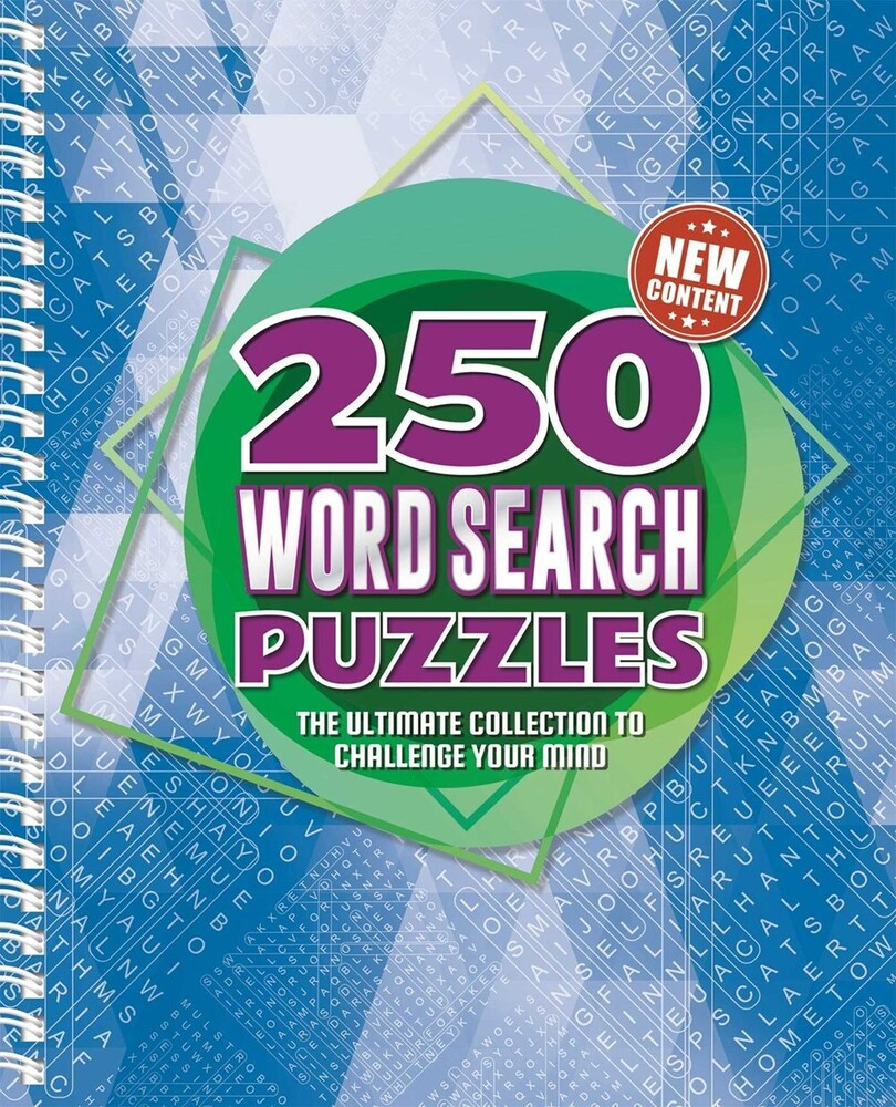 - 250 Word Search Puzzles: The Ultimate Collection to Challenge YourMind