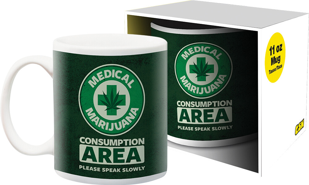Weed Medical 11Oz Boxed Mug - Weed Medical 11oz Boxed Mug
