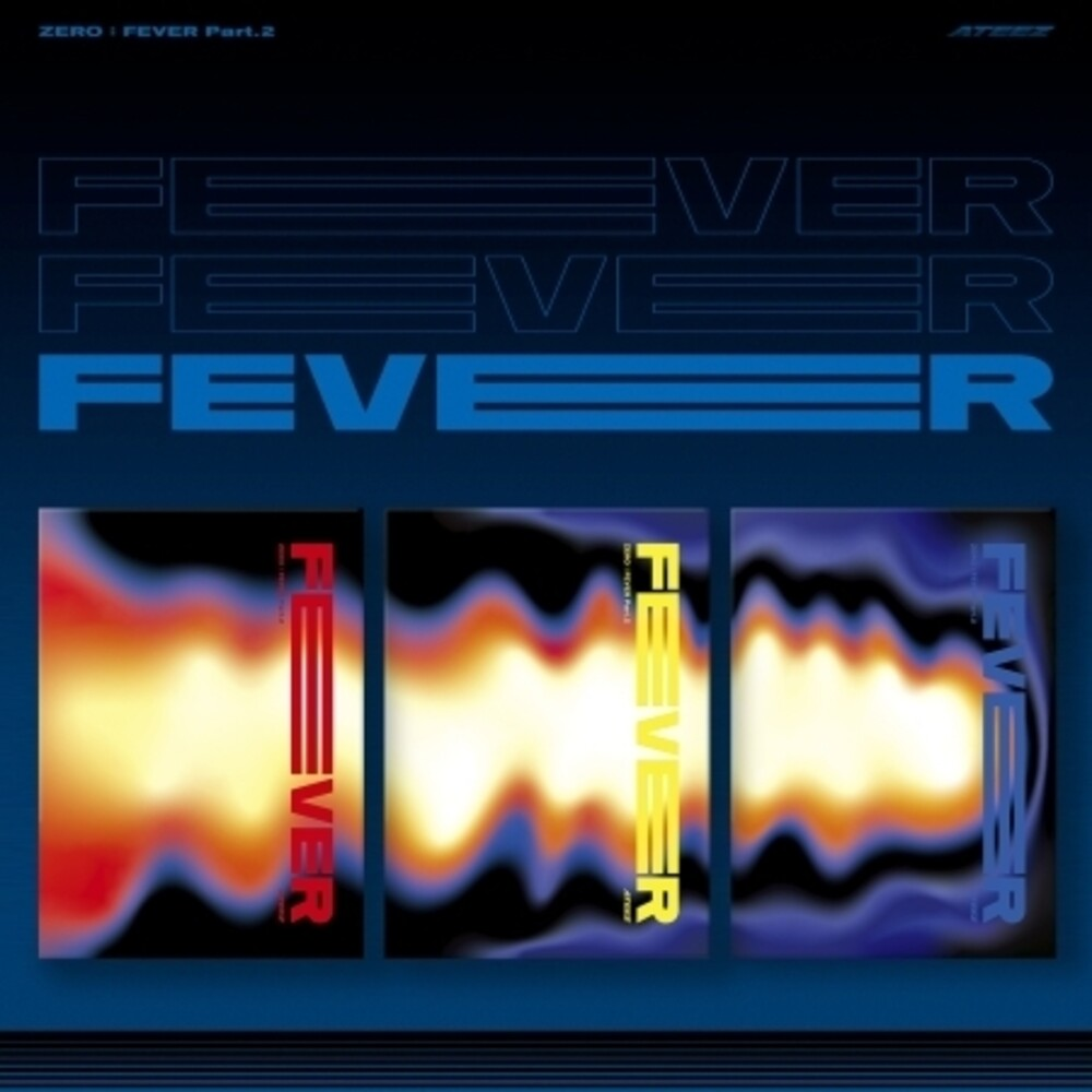 Ateez - Zero: Fever Part 2 (Random Cover) (incl. 96pg Photobook, 8pc Postcard Set + Photocard)