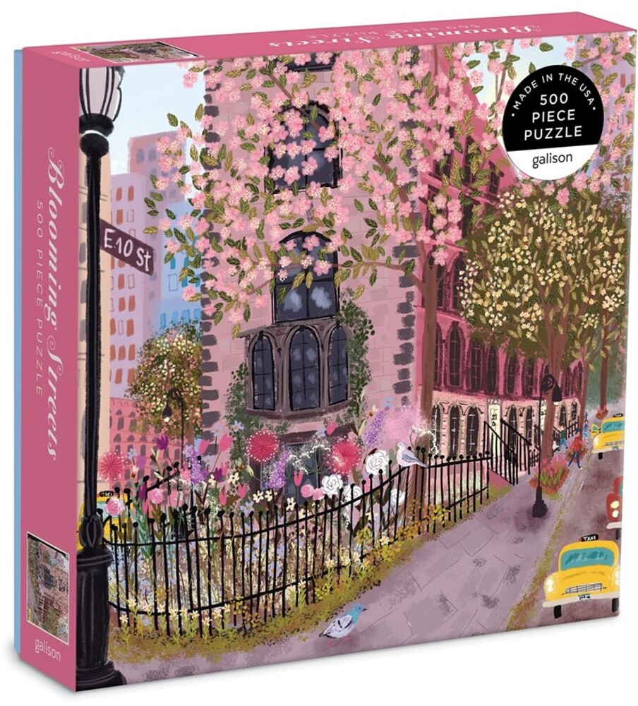 - Blooming Streets 500 Piece Puzzle
